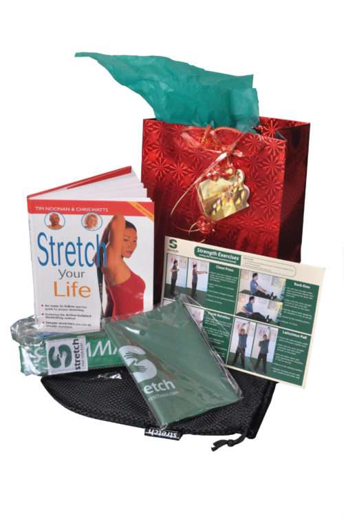 Stretch Kit to stretch on the go - A great present for a frequent traveller